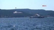 Çanakkale ABD Savaş Gemileri Çanakkale Boğazı'ndan Geçti