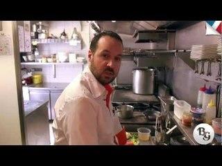 Recette : Pavé de lieu jaune et grecque de légumes par Pierre-Olivier Lenormand