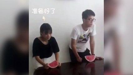 Qui mangerai la pastèque aussi vite ?