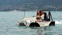 Une mini moke qui va sur l'eau !