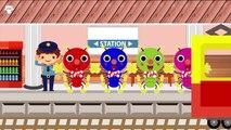 むしむしくん ❤ 列車のアニメーション ❤ 子供向けアニメ ❤ 赤ちゃん泣き止む!❤ Train animation for kids  [Japan Kid]