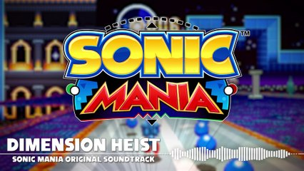 Special Stage ( Dimension Heist ) de Sonic Mania