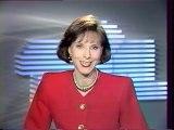 TF1 - 7 Février 1989 - Speakerine (Denise Fabre), pubs, teaser