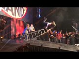 Spectacular Jeff Hardy Slow Motion Fall Off Ladder From Final Resolution 2013