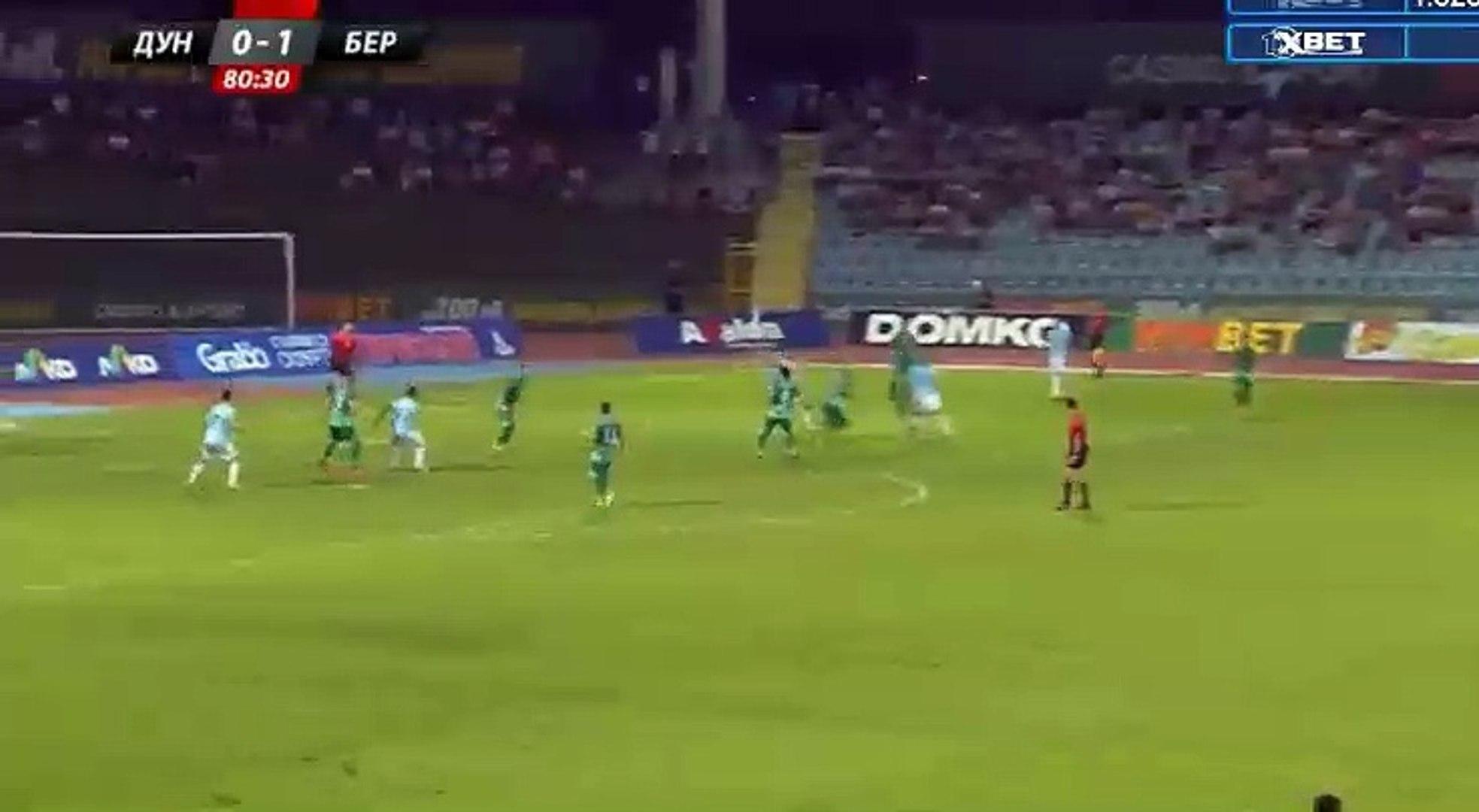 Miroslav Budinov Goal HD - Dunav Ruse 1-1 Beroe 24.07.2017