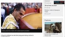 Matador Ivan Fandino killed in France bullfight (1)