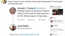SNL writer is replying to Trump's tweets as if they are texting each other