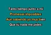 José Luis Rodríguez '' El Puma '' -  Amante eterna, amante mía (Karaoke)