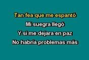 Los Teen Tops - La suegra (Karaoke)