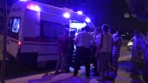 Otomobil Sulama Kanalına Düştü