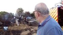 Violents incendies à Carros dans les Alpes-Maritimes: des habitants évacués