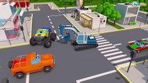 Caminhão e Trator para Crianças | Desenhos animados carros bebês compilação de 20 min carro desenho