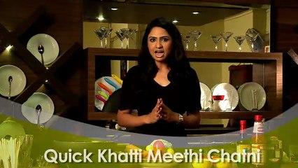 How to Make Quick Khatti Meethi Chatni