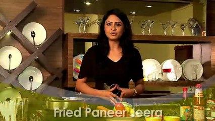 How to Make Fried Paneer Jira