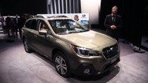 Reviews car - 2018 Subaru Outback and 2018 Subaru Ascent Concept First Look - 2017 New York Auto Show