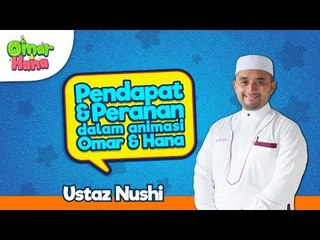 Promo Omar & Hana | Peranan & Pendapat | Ustaz Nushi