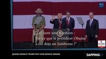 Donald Trump fait huer Barack Obama par 45 000 scouts (Vidéo)