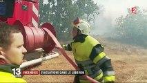 Luberon : les pompiers s'activent à Artigues