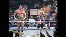 1997.01.20- Owen Hart and British Bulldog vs. Doug Furnas and Phil LaFon- RAW