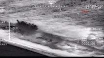 Izmir Sahil Güvenlik Tarafından Dikili'de 99 Göçmen Yakalandı