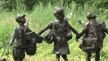Memorial unveiled for children evacuated during World War II