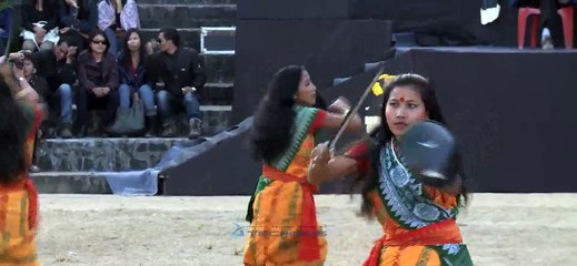 Girls from Assam put up a great show in Kohima!