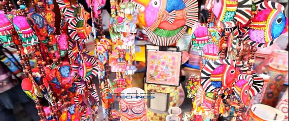 Indian handicrafts at Delhi haat