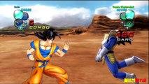 Dragon Ball Z Ultimate Tenkaichi -Modo Historia Parte 7 Goku vs Vegeta [HD]
