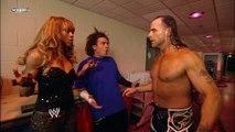 Alicia Fox, Carlito, Shawn Michaels, Teddy Long and Triple H Backstage Segment