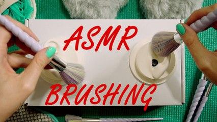 ASMR No Talking Ear Brushing & Ear Cleaning Sounds – Custom Binaural Microphone