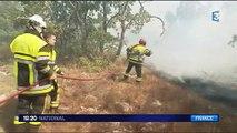 Incendies : situation toujours délicate dans le Luberon