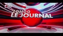 REPLAY - JT Français 20h - Pr : CHEIKH TIDIANE DIAHO - 25 Juillet 2017