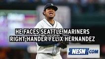 Red Sox Lineup: Rafael Devers To Make MLB Debut