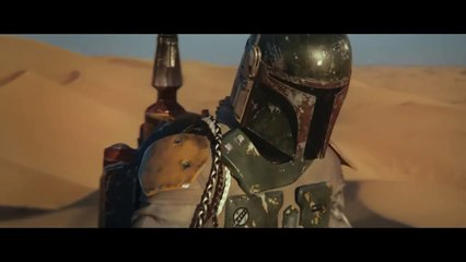 BOBA FETT - ESCAPE FROM THE SARLACC PIT - STAR WARS - Entertainment Movies  Film