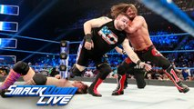 WWE Smackdown 25 July 2017 - Kevin Owens vs AJ Styles vs Chris Jericho  U.S. Title Match - The New Day vs The Usos - WWE