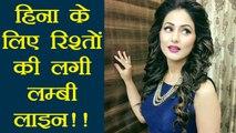 Khatron Ke Khiladi Contestant Hina Khan GETTING MARRIAGE PROPOSALS | FilmiBeat