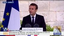 """""""Le sourire de Jacques Hamel est devenu un sourire de résistance""""; dit Emmanuel Macron"""