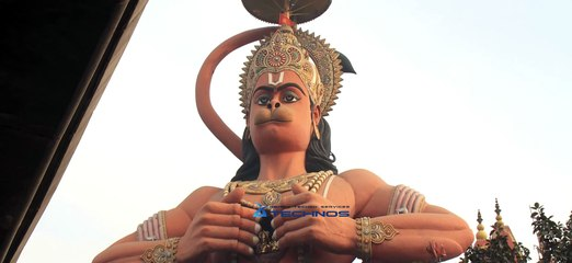 The highest Hanuman statue in India also moves Karol Bagh, Delhi