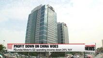 Hyundai Motor's Q2 profit down on China sales drop & U.S. demand sags