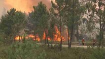 Continúan los incendios en Portugal, los peores en una década