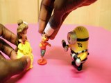 THE STORY OF BEAUTY & THE BEAST AGNES GRU PRINCESS BELLE BOWSER DIEGO BOSS BABY Toys BABY Videos, DISNEY , PIXAR, DESPIC