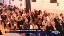 Saint-Étienne-du-Rouvray : une cérémonie d'hommage en présence d'Emmanuel Macron