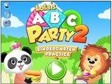 Application démo fête en train de lire Lolas abc 2 alphabet / début