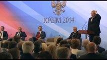 Obliger russe Russie Il sagit La réaction de Poutine est un must