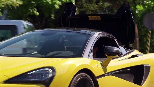 McLaren 570S Spider Driving Video in Sicilian Yellow