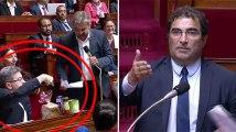 Christian Jacob se moque des Insoumis qui apportent des courses à l'Assemblée