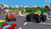 Carro Desenho Caminhão e Trator para Crianças | Desenhos animados carros bebês compilação de 54 min