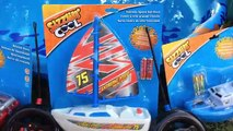 Toy Boats & Beats!! Musical Toy Boats Video! Rescue Shark Ship & Remote Control Boats!