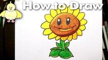 Un et un à un un à dessiner Comment plantes tournesol à Il contre des morts-vivants