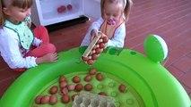 Bébé mal jouet avec 7 enfants mauvaise omelette piscine œufs pause bébé dangereux 40 pcs f